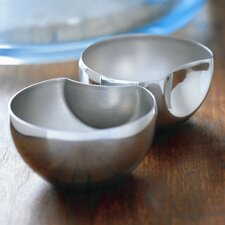 Carl Mertens Liasion Cups Divided Candy / Nut Bowl (Set of 3)