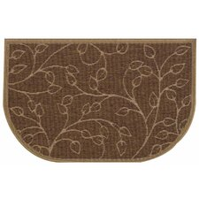 Brown Slice Wandering Leaf Doormat