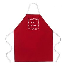 Never Fry Bacon Apron