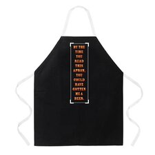 By The Time You Read This Apron