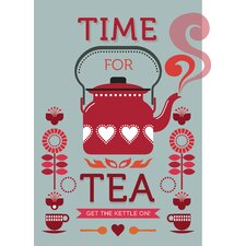 Poster Time For Tea, Retro-Werbung