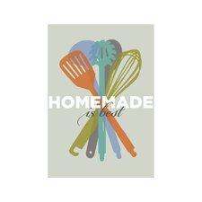 Poster Homemade is Best, Retro-Werbung