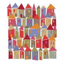Poster Little Houses, Grafikdruck
