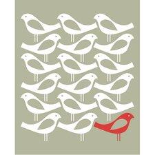Poster One Bird, Grafikdruck
