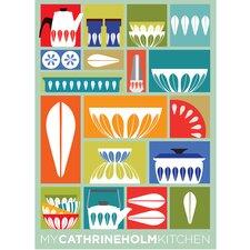 Poster My Cathrineholm Kitchen, Grafikdruck