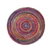Handgefertigter Teppich Tokat in Bunt