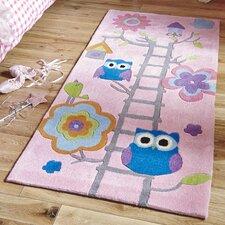 Handgetufteter Kinderteppich Hong Kong 5648 in Pink