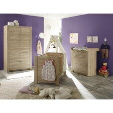 3-tlg. Schlafzimmer-Set Carlotta, 70 x 140 cm