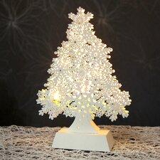 LED-Fensterleuchter Snowflake Tree
