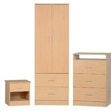 3-Piece Polar Bedroom Set