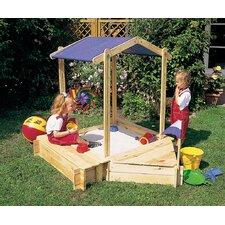 Sandkasten-Set Pistoia mit Sitz u Bugbox