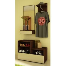 Cintia 3 Piece Wardrobe Set
