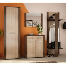 Carmen 4 Piece Wardrobe Set