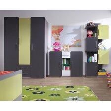 3-tlg. Schlafzimmer-Set Liwia