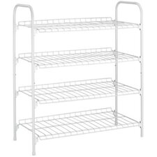 4 Tier / 12 Pair Shoe Storage Shelf