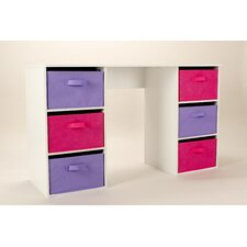 Oneta 6 Drawer Writing desk