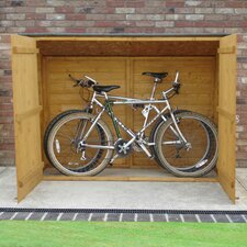 7 x 3 Wooden Bike Shed