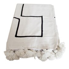 Moroccan Pom Pom Blanket