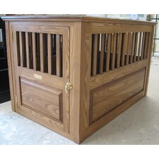 Handmade Furniture-Style Pet Crate