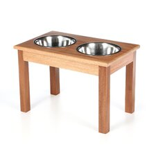 2-Bowl Traditional Style Pet Diner