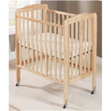 Big Oshi Angela 2 Position Portable Convertible Crib with Mattress