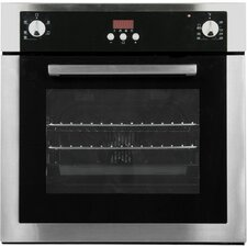 """Cosmo 24"""" Electric Single Wall Oven in Stainless Steel"""