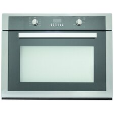 """Cosmo 30"""" Electric Single Wall Oven in Black"""