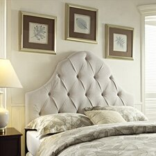 Martina Upholstered Headboard in Taupe