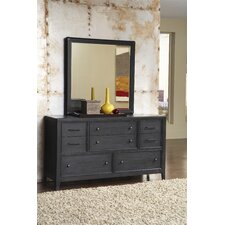 Tempo 8 Drawer Dresser with Mirror