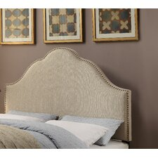 Glam Upholstered Arch Headboard