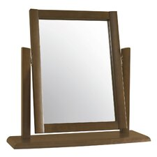 Alba Walnut Rectangular Dressing Table Mirror
