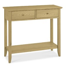 Shaker Oak Console Table
