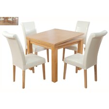 Bari Extendable Dining Table and 4 Chairs