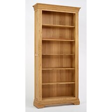 Normandy Oak 200.5cm Standard Bookcase