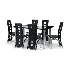 Berisca Dining Table and 6 Chairs