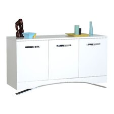 Smooth 3 Door Sideboard