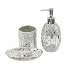 3 Piece Mosaic Bathroom Set