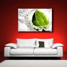 Leinwandbild Lime Lemon Fotodruck