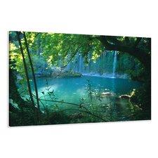 Leinwandbild Waterfall, Fotodruck