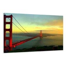 Leinwandbild Golden Gate Bridge, Fotodruck