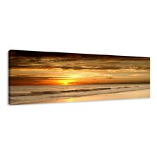 Beach Photographic Print Wrapped on Canvas