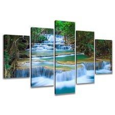 5-tlg. Leinwandbilder-Set Nature, Fotodruck
