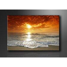 Leinwandbild Beach Sea, Fotodruck