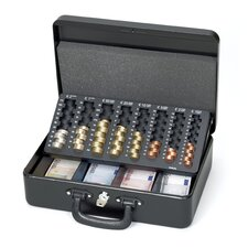 Geldkassette mit Euro-Zähl-Einsatz