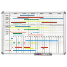 Office Monthly and Annual Whiteboard Planner