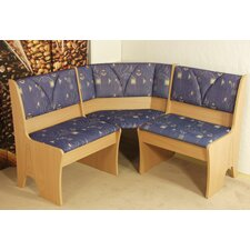 Gepolsterte Küchenbank Halle I aus Holz