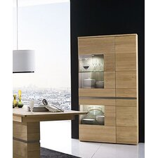Taga Solid Wood Display Cabinet