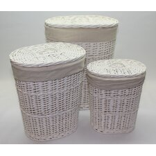 Willow 3 Piece Laundry Basket Set