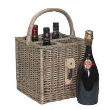 4 Bottle Basket