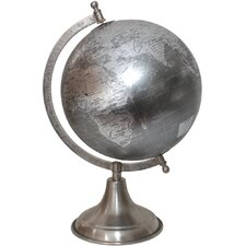 Large Traditional Globe on Arc Stand